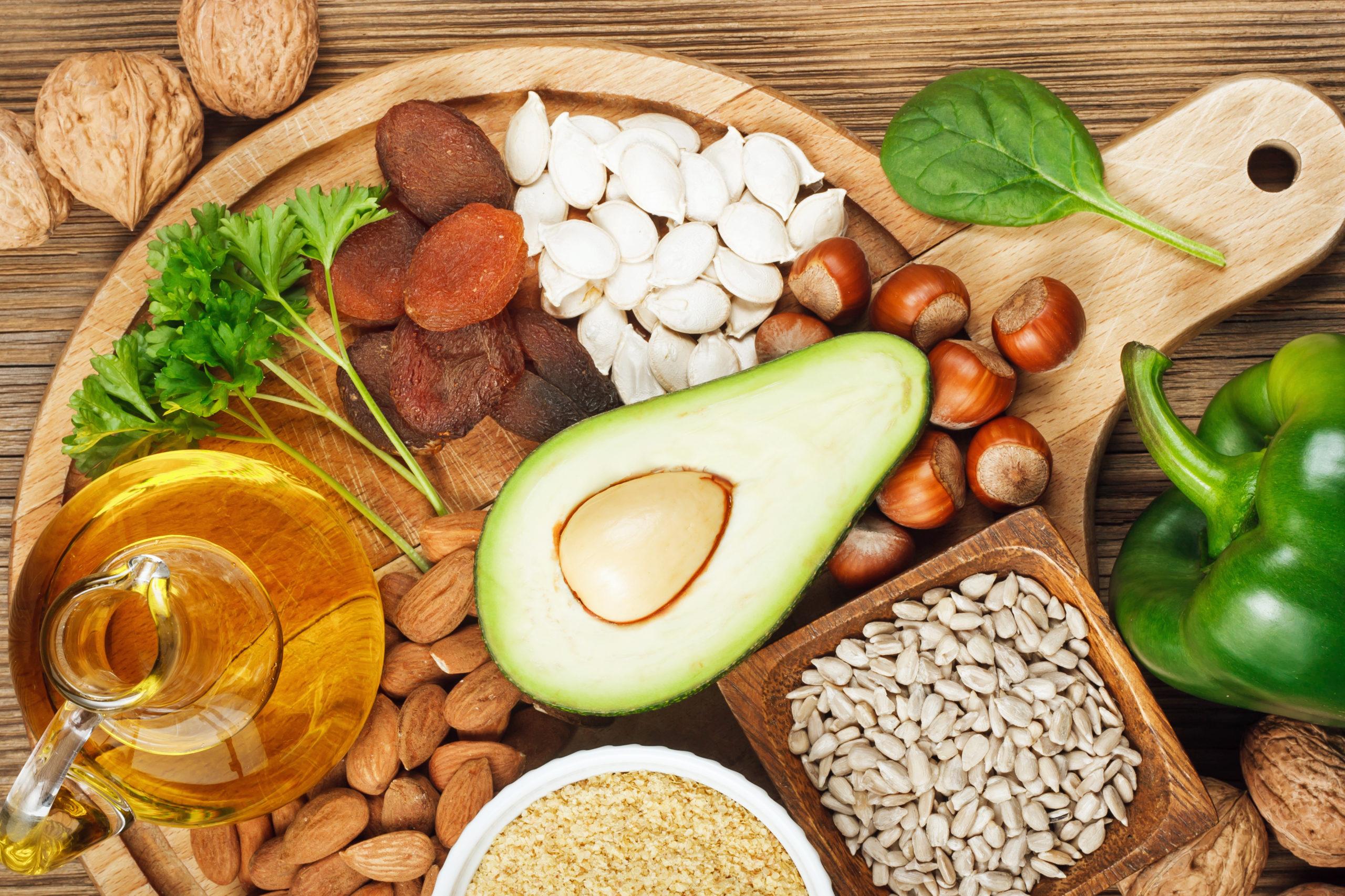 Sunne mat. Vitamin E. Høykvalitetsprodukt utviklet i Norge