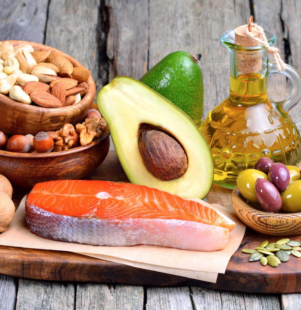 laks, avokado og sunne fett